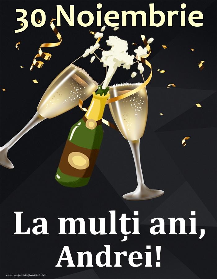 Felicitari de Ziua Numelui - 30 Noiembrie - La mulți ani, Andrei!