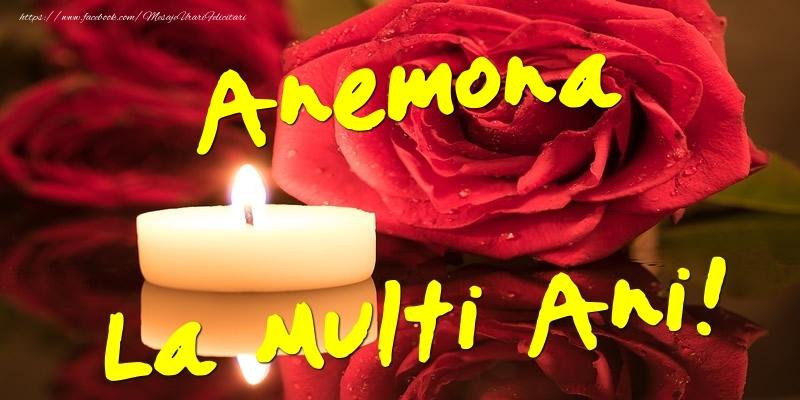 Felicitari de Ziua Numelui - Anemona La Multi Ani!