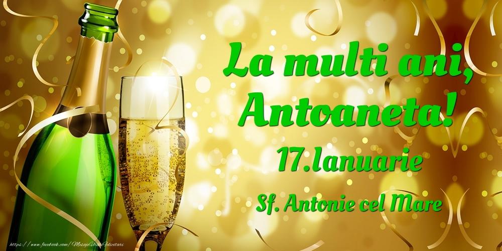 Felicitari de Ziua Numelui - La multi ani, Antoaneta! 17.Ianuarie - Sf. Antonie cel Mare