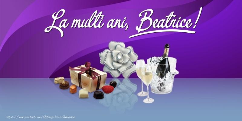 Felicitari de Ziua Numelui - La multi ani, Beatrice!