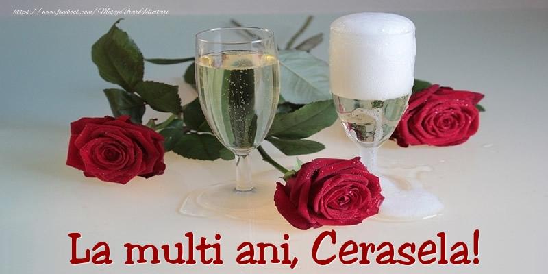 Felicitari de Ziua Numelui - La multi ani, Cerasela!