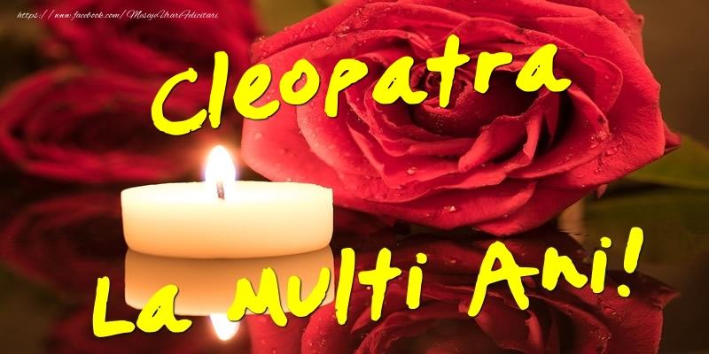 Felicitari de Ziua Numelui - Cleopatra La Multi Ani!