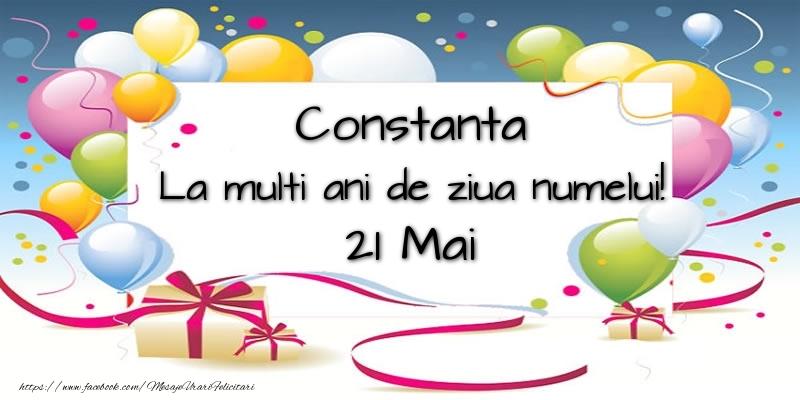 Felicitari de Ziua Numelui - Constanta, La multi ani de ziua numelui! 21 Mai