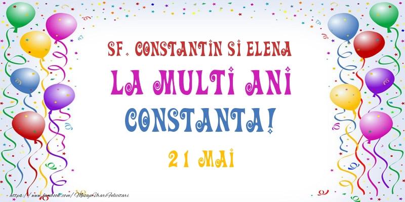 Felicitari de Ziua Numelui - La multi ani Constanta! 21 Mai