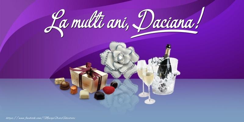 Felicitari de Ziua Numelui - La multi ani, Daciana!