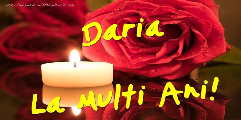 Felicitari de Ziua Numelui - Daria La Multi Ani!