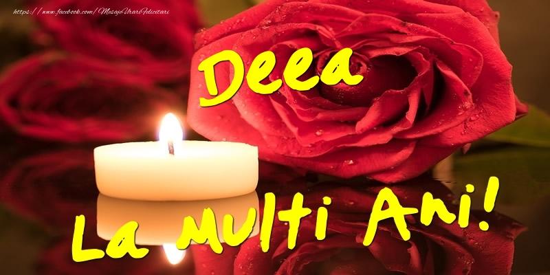 Felicitari de Ziua Numelui - Deea La Multi Ani!