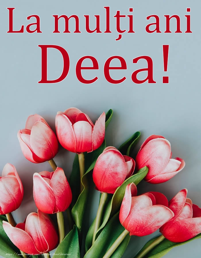 Felicitari de Ziua Numelui - La mulți ani, Deea!