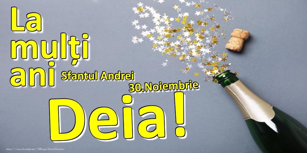 Felicitari de Ziua Numelui - 30.Noiembrie - La mulți ani Deia!  - Sfantul Andrei