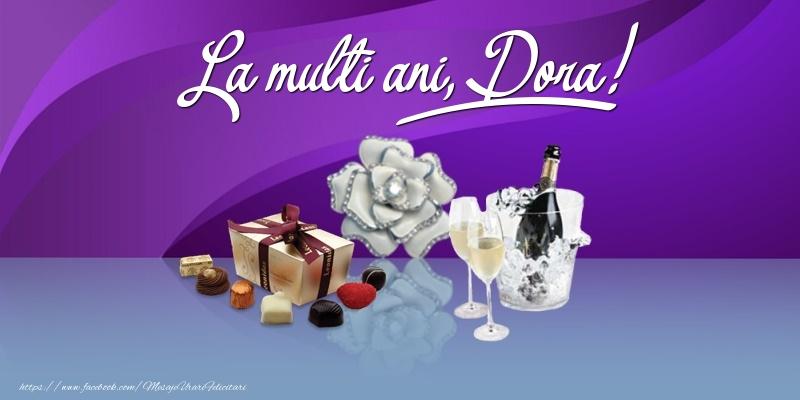 Felicitari de Ziua Numelui - La multi ani, Dora!
