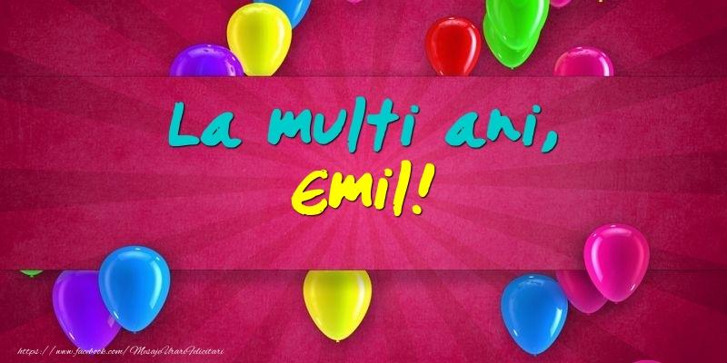 Felicitari de Ziua Numelui - La multi ani, Emil!