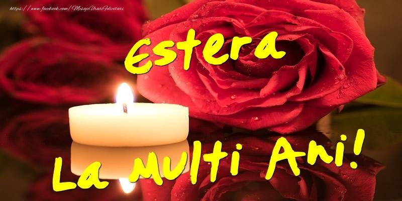 Felicitari de Ziua Numelui - Estera La Multi Ani!