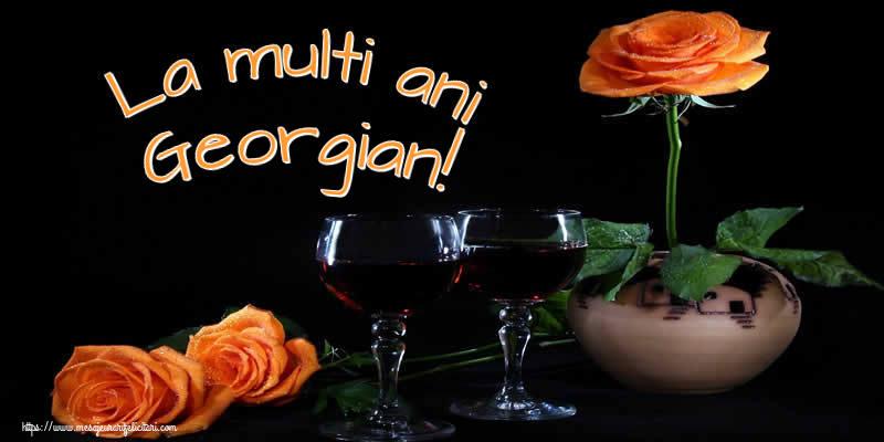 Felicitari de Ziua Numelui - La multi ani Georgian!