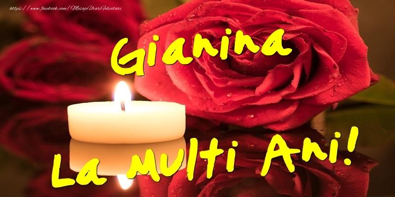 Felicitari de Ziua Numelui - Gianina La Multi Ani!