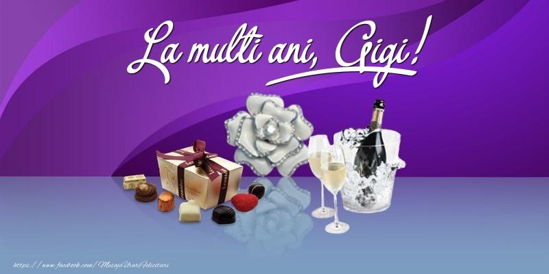 Felicitari de Ziua Numelui - La multi ani, Gigi!