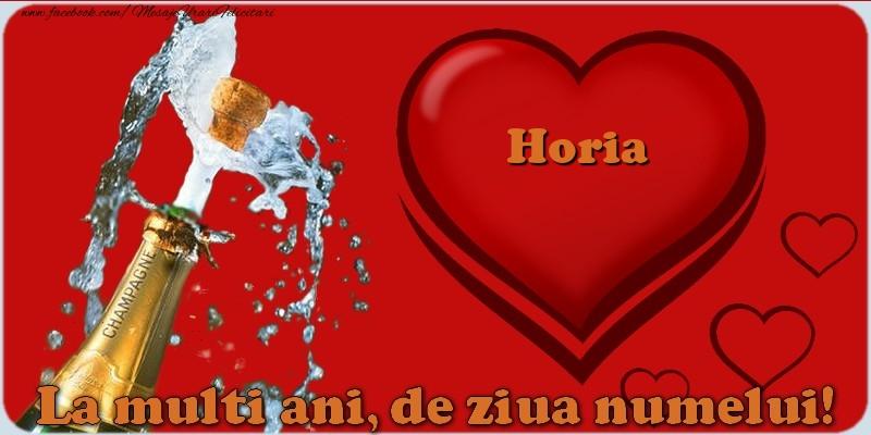 Felicitari de Ziua Numelui - La multi ani, de ziua numelui! Horia