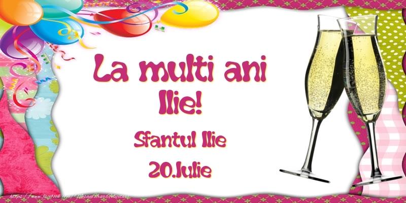 Felicitari de Ziua Numelui - La multi ani, Ilie! Sfantul Ilie - 20.Iulie
