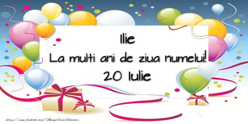 Felicitari de Ziua Numelui - Ilie, La multi ani de ziua numelui! 20 Iulie