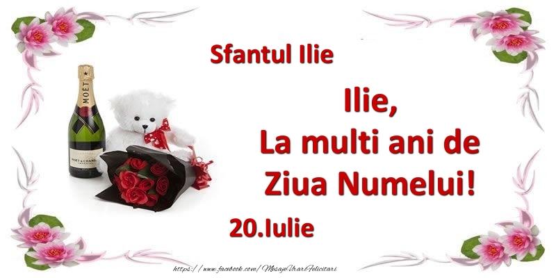 Felicitari de Ziua Numelui - Ilie, la multi ani de ziua numelui! 20.Iulie Sfantul Ilie