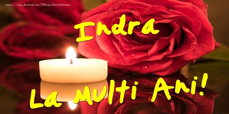 Felicitari de Ziua Numelui - Indra La Multi Ani!