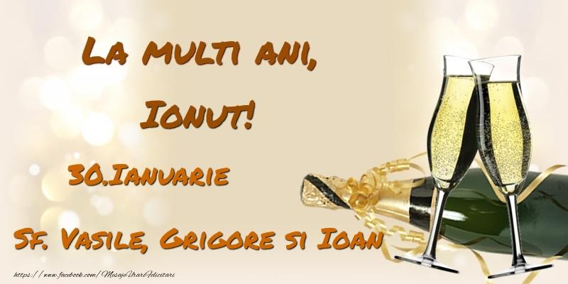 Felicitari de Ziua Numelui - La multi ani, Ionut! 30.Ianuarie - Sf. Vasile, Grigore si Ioan