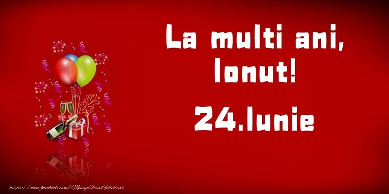 Felicitari de Ziua Numelui - La multi ani, Ionut!  - 24.Iunie