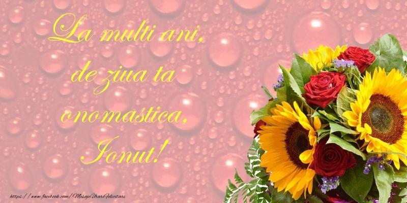 Felicitari de Ziua Numelui - La multi ani, de ziua ta onomastica, Ionut