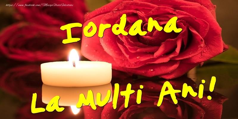 Felicitari de Ziua Numelui - Iordana La Multi Ani!