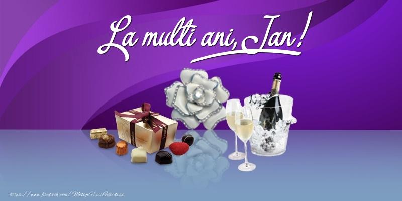 Felicitari de Ziua Numelui - La multi ani, Jan!