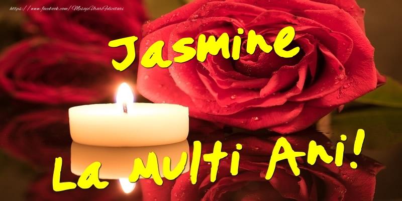 Felicitari de Ziua Numelui - Jasmine La Multi Ani!
