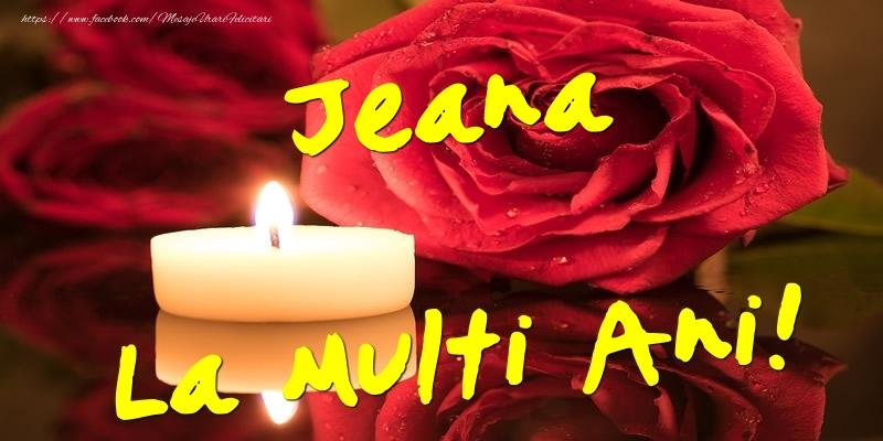 Felicitari de Ziua Numelui - Jeana La Multi Ani!