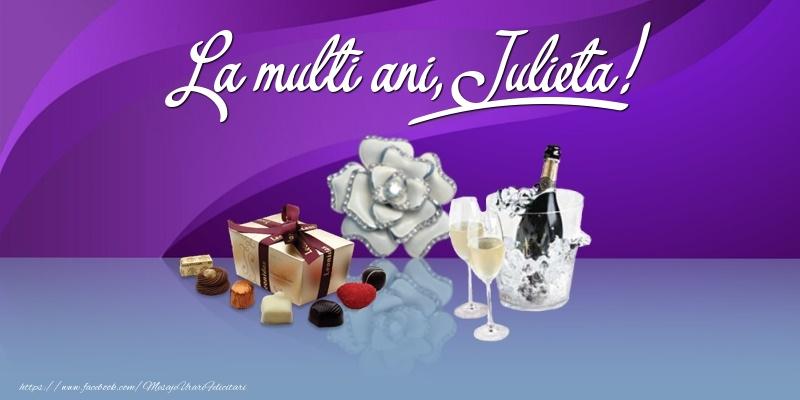 Felicitari de Ziua Numelui - La multi ani, Julieta!