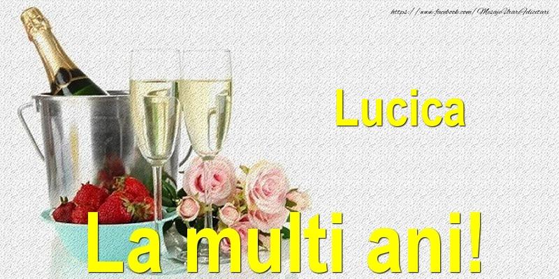 Felicitari de Ziua Numelui - Lucica La multi ani!