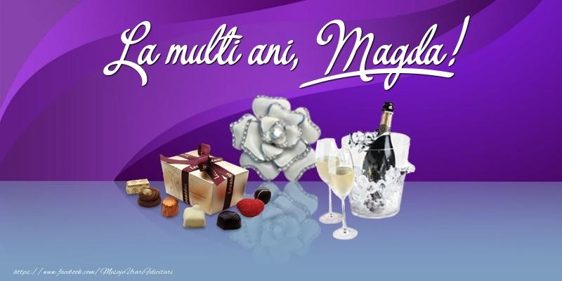 Felicitari de Ziua Numelui - La multi ani, Magda!