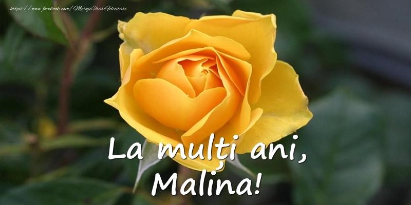 Felicitari de Ziua Numelui - La mulți ani, Malina!