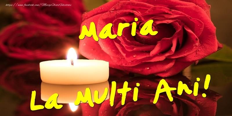 Felicitari de Ziua Numelui - Maria La Multi Ani!