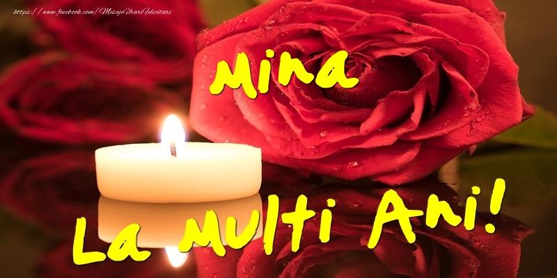 Felicitari de Ziua Numelui - Mina La Multi Ani!