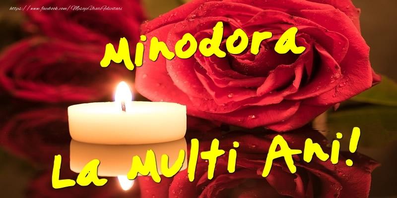 Felicitari de Ziua Numelui - Minodora La Multi Ani!