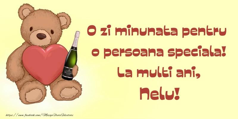 Felicitari de Ziua Numelui - O zi minunata pentru o persoana speciala! La multi ani, Nelu!