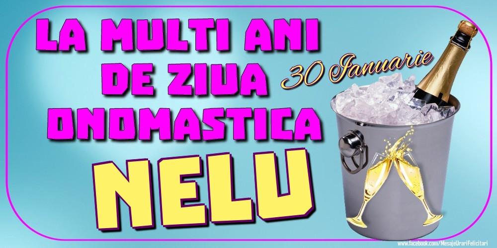 Felicitari de Ziua Numelui - 30 Ianuarie - La mulți ani de ziua onomastică Nelu