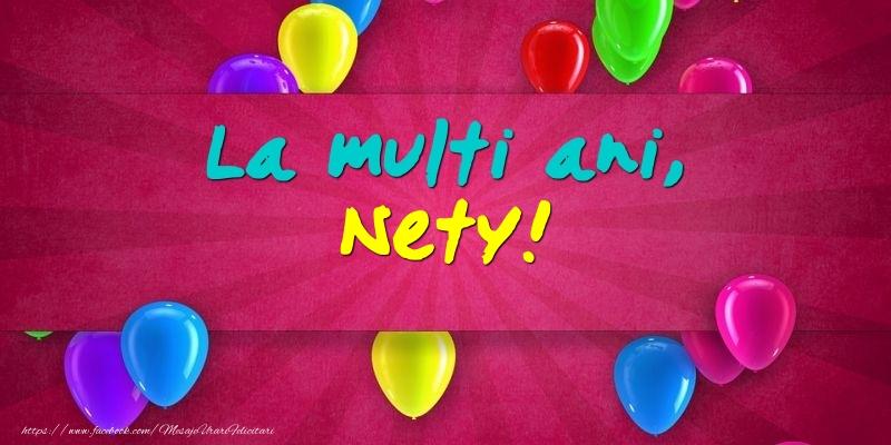 Felicitari de Ziua Numelui - La multi ani, Nety!