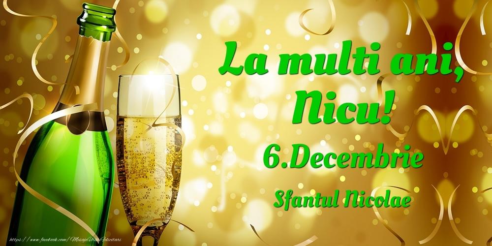 Felicitari de Ziua Numelui - La multi ani, Nicu! 6.Decembrie - Sfantul Nicolae