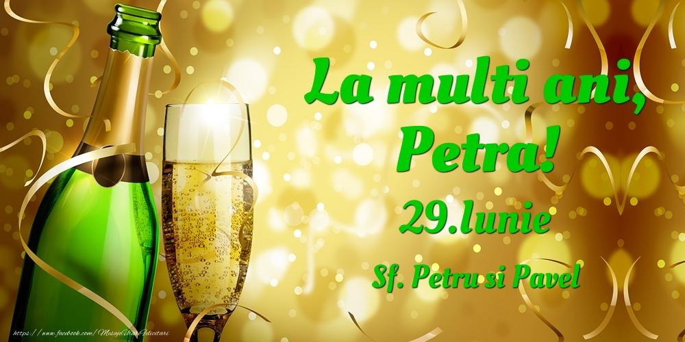 Felicitari de Ziua Numelui - La multi ani, Petra! 29.Iunie - Sf. Petru si Pavel