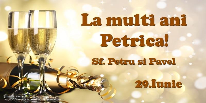 Felicitari de Ziua Numelui - 29.Iunie Sf. Petru si Pavel La multi ani, Petrica!