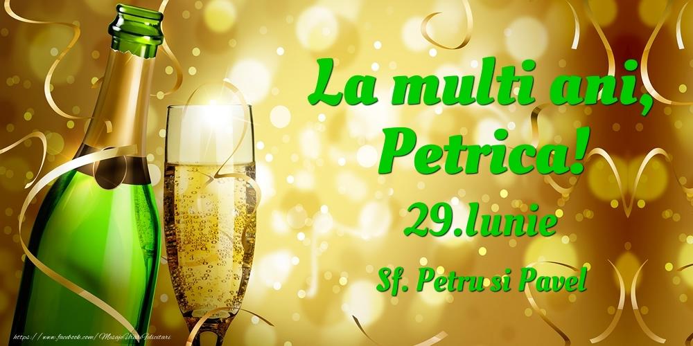 Felicitari de Ziua Numelui - La multi ani, Petrica! 29.Iunie - Sf. Petru si Pavel