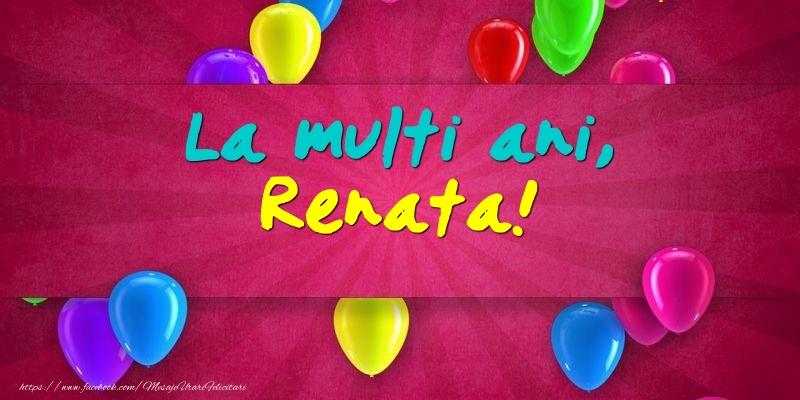 Felicitari de Ziua Numelui - La multi ani, Renata!