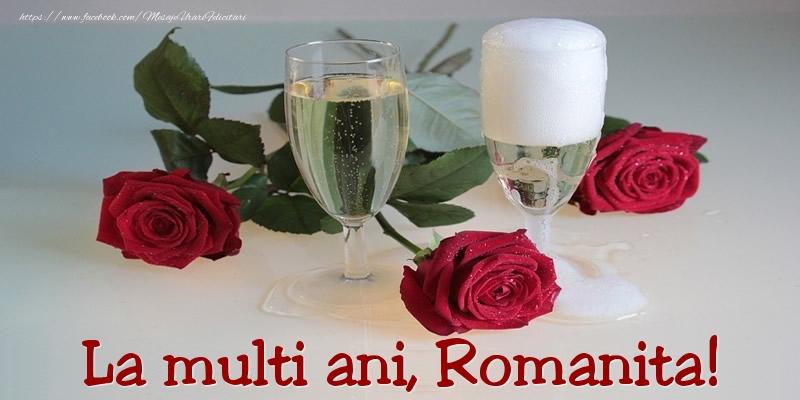 Felicitari de Ziua Numelui - La multi ani, Romanita!