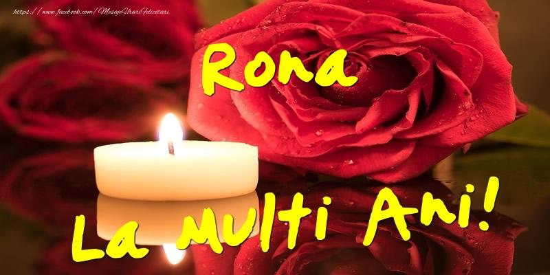 Felicitari de Ziua Numelui - Rona La Multi Ani!