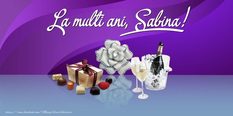 Felicitari de Ziua Numelui - La multi ani, Sabina!