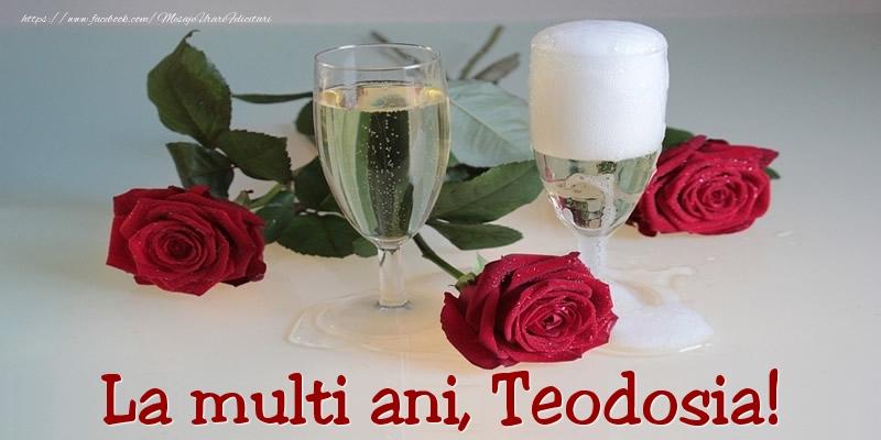 Felicitari de Ziua Numelui - La multi ani, Teodosia!